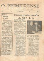 Periódico da AUPIBRJ (Assembleia das Uniões de Treinamento da PIBRJ)